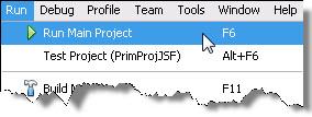 Executando o Projeto