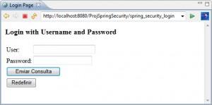 Figura 8 – Formulário de login gerado automaticamente pelo Spring Security