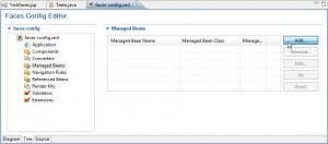 Figura 16 – Configurando um Managed Bean no arquivo faces-config.xml