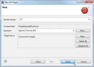 Figura 7 – Servidor Tomcat configurado no projeto