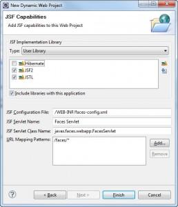 Figura 8 – Finalizando a criação do projeto com a seleção das bibliotecas de usuário criadas