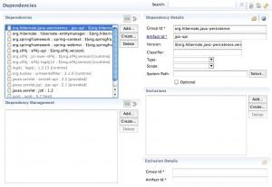 Figura 13  - A dependência da API JPA 2.0